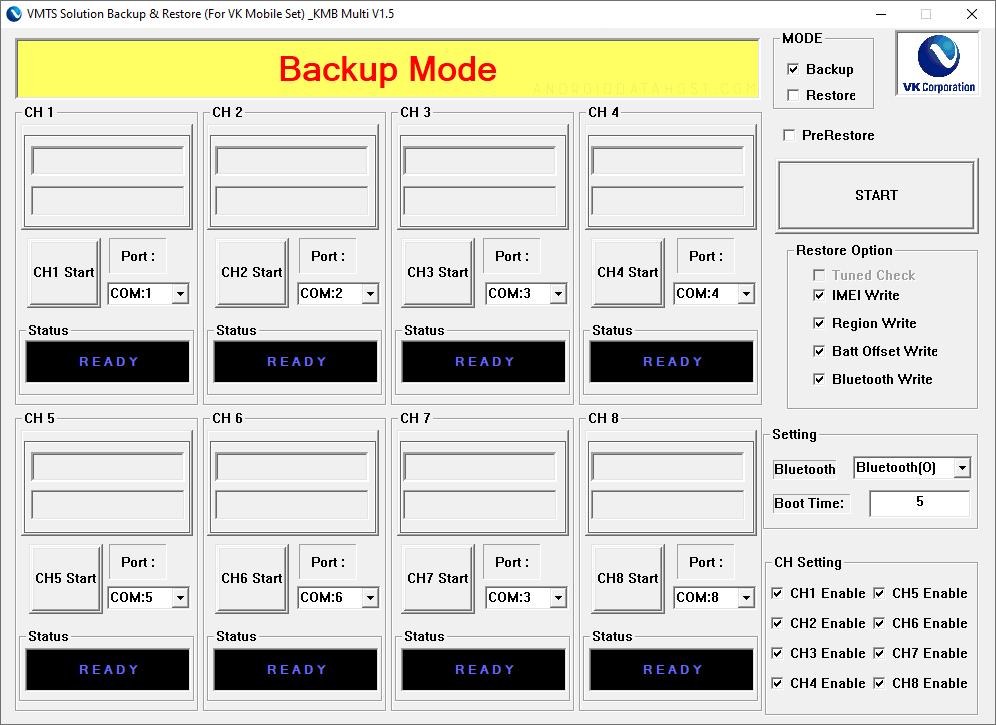 VK Backup Multi v1.5
